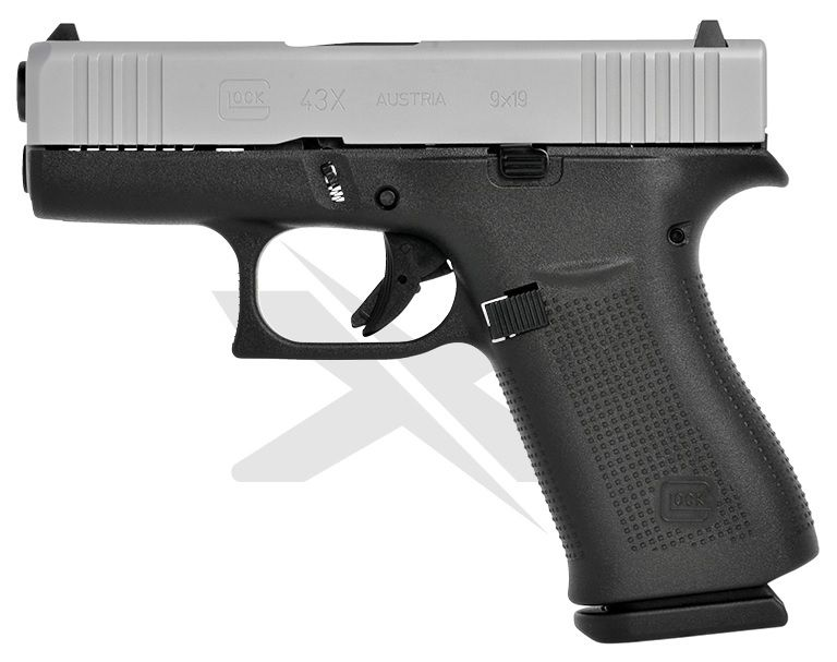 Glock 43X 9mm Luger (9x19)