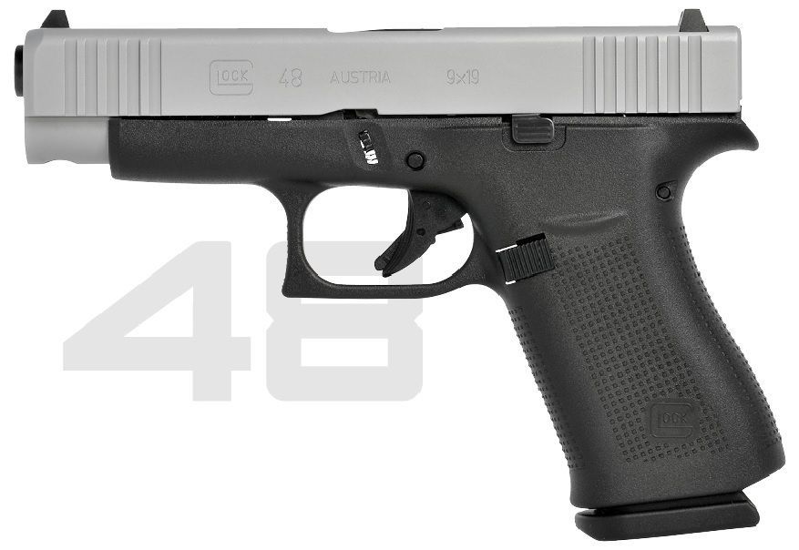 Glock 48 9mm Luger (9x19)
