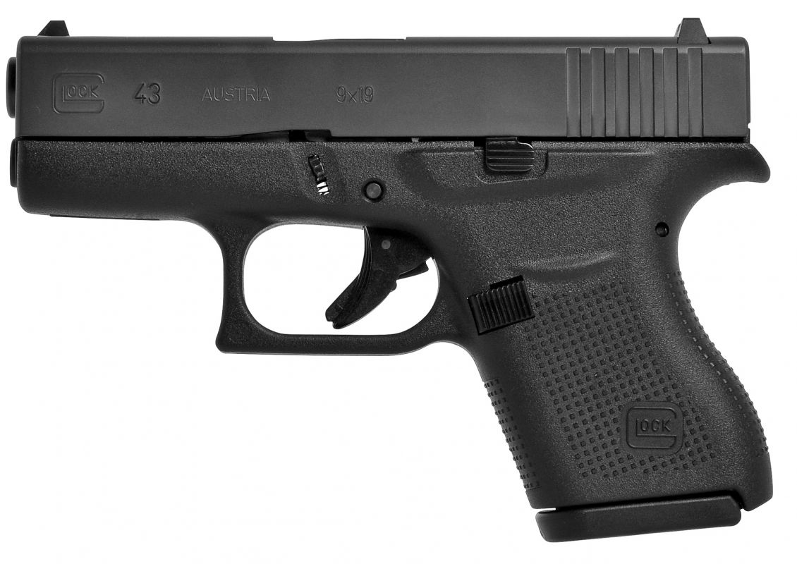 Glock 43 9mm Luger (9x19)