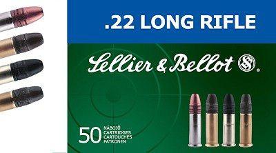 Sellier & Bellot .22 LR SUBSONIC HP 50ks Sellier & Bellot, a.s.