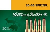 Sellier & Bellot 30-06 SPRING. 11.7g SPCE 20ks