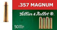 Sellier & Bellot .357 MAGNUM FMJ 50ks
