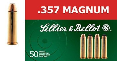 Sellier & Bellot .357 MAGNUM FMJ 50ks Sellier & Bellot, a.s.