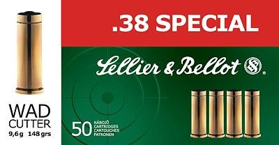 Sellier & Bellot .38 SPECIAL WC 50ks Sellier & Bellot, a.s.