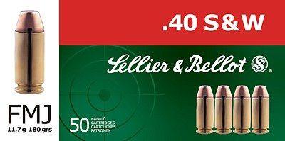 Sellier & Bellot .40 S&W FMJ 50ks Sellier & Bellot, a.s.