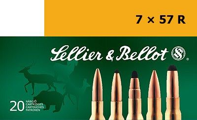 Sellier & Bellot 7x57R 11,2g SPCE 20ks Sellier & Bellot, a.s.