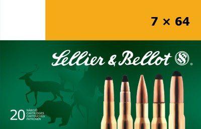 Sellier & Bellot 7x64 11,2g SPCE 20ks Sellier & Bellot, a.s.
