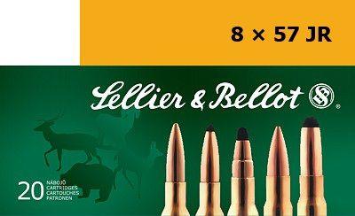Sellier & Bellot 8x57JR 12,7g SP 20ks Sellier & Bellot, a.s.
