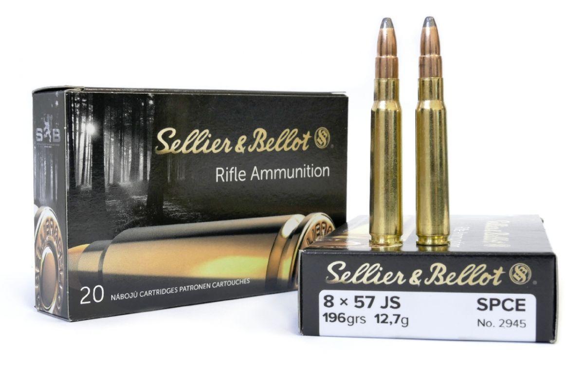 Sellier & Bellot 8x57JS 12,7g SPCE 20ks Sellier & Bellot, a.s.