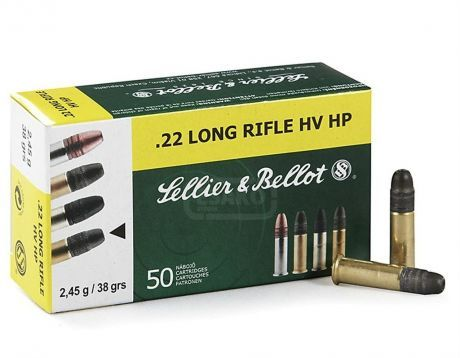 Sellier & Bellot.22 LR HV HP 50ks Sellier & Bellot, a.s.