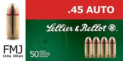 Sellier & Bellot .45 AUTO Sellier & Bellot, a.s.