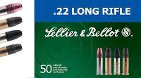 Sellier & Bellot .22 LR SUBSONIC 50ks