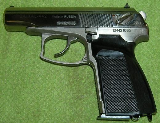 BAIKAL 442 9 mm Makarov