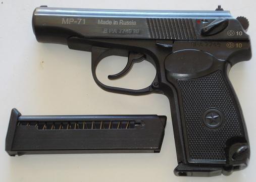 BAIKAL MP 71 9 mm Br.
