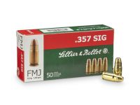 Sellier & Bellot .357 SIG FMJ 9g 140grs 50ks