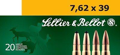 Sellier & Bellot 7,62x39 FMJ 50ks Sellier & Bellot, a.s.