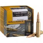 Sellier & Bellot7,5 x 55 SWISS 11,3g FMJ 50ks